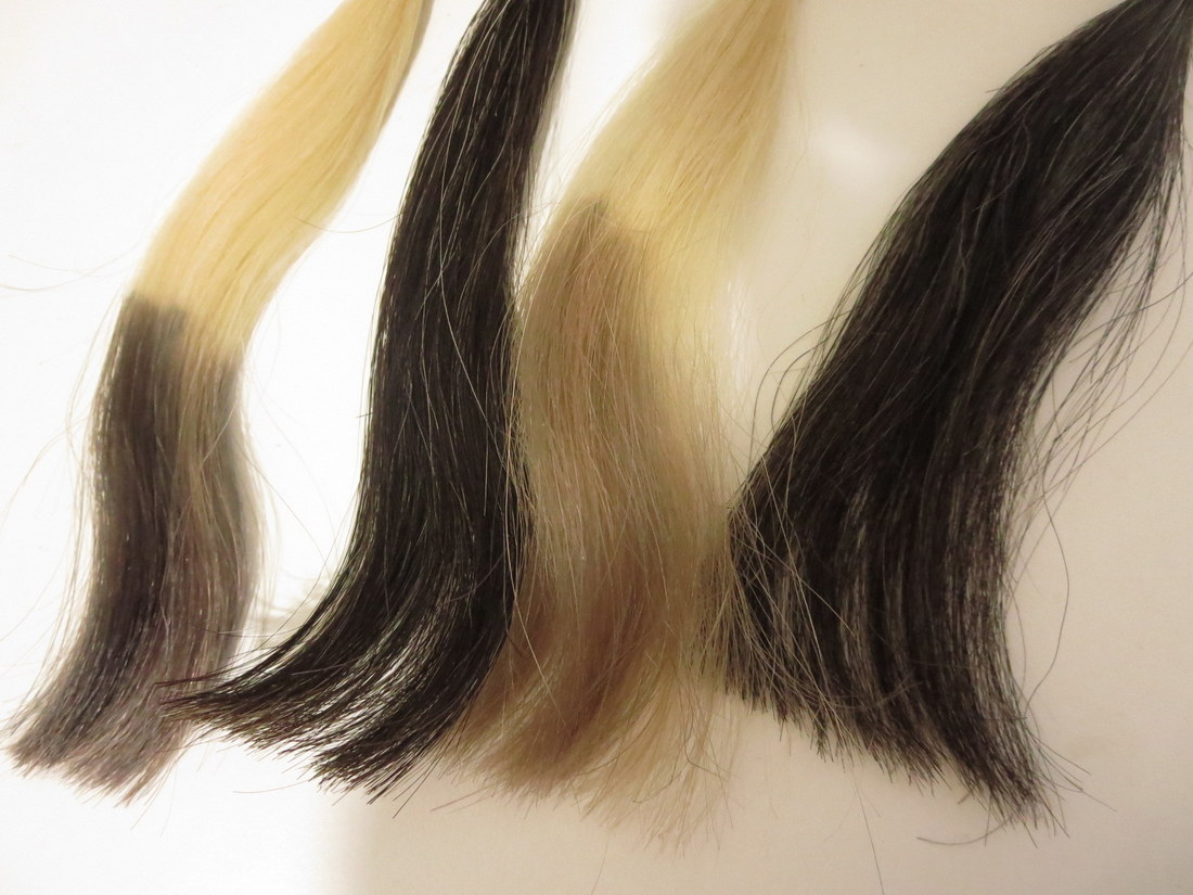 POLAグローイングショットカラートリートメント乾いた髪と濡れた髪