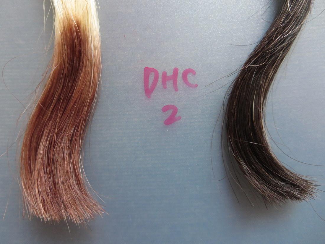 DHC Q10クイックカラートリートメント白髪用2回目