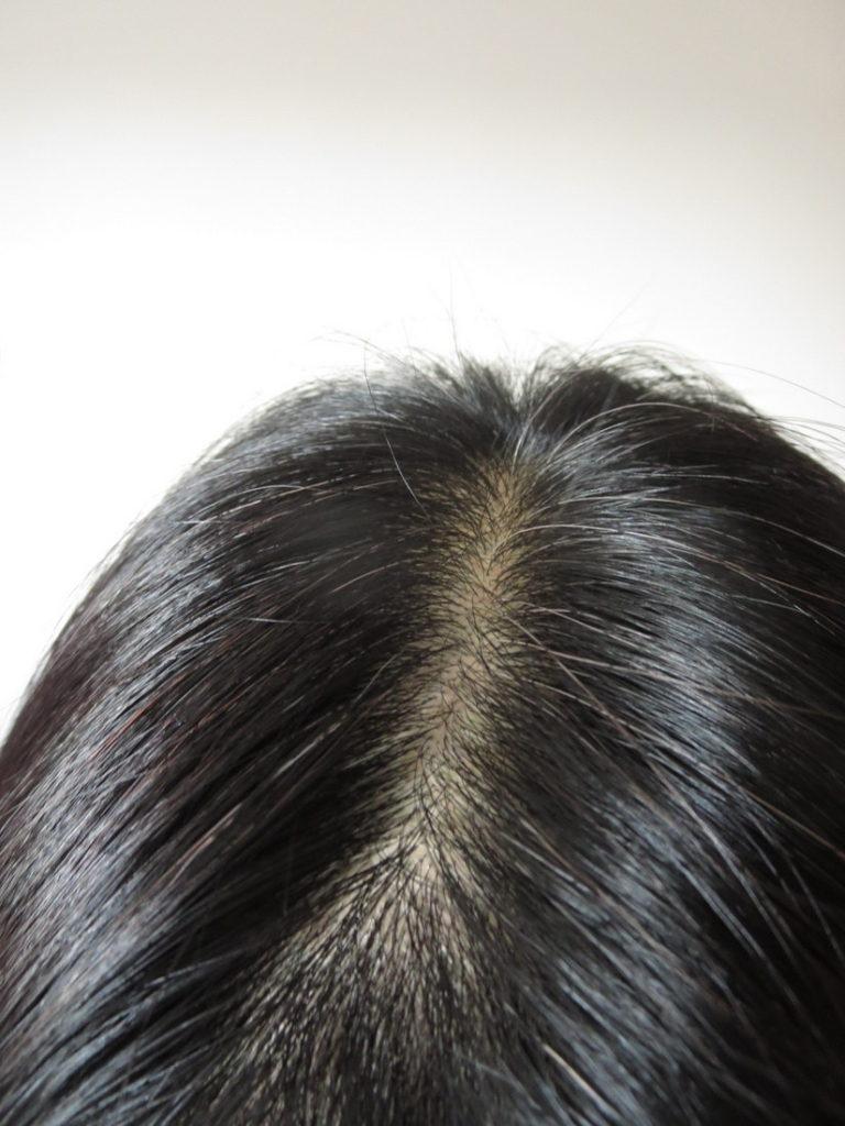 レフィーネヘッドスパトリートメントカラー白髪染め2回目
