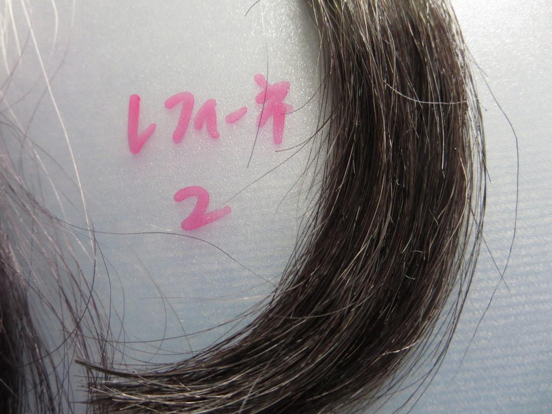 レフィーネヘッドスパトリートメントカラー2回目 白髪30%